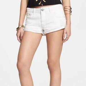 Free People Irreplaceable denim shorts